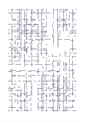 Laboratory: gridlines ordered by color (bleu purple) (2018)